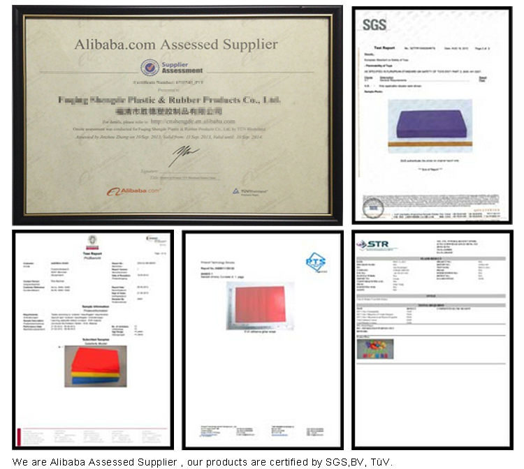 Mousse EVA certificat