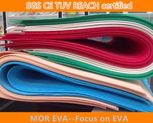 Colorful eva foam sheet