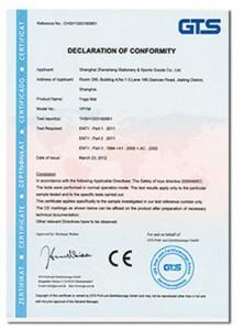 Eva köpük CE sertifikası