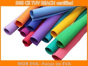 Rolo de espuma de eva colorida