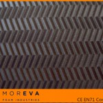 embossed eva foam sheet, zip texture