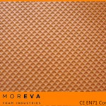 embossed eva foam sheet, grid texture
