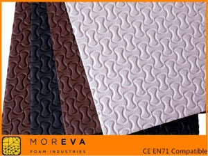 embossed eva foam sheet, bone texture