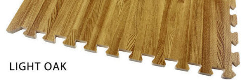 Wood Graining EVA floor mat
