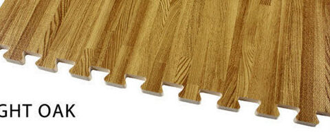Esteira do assoalho de madeira Graining EVA