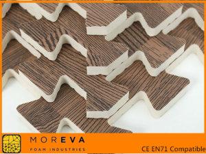 Mat de puzzle lemn granulare EVA