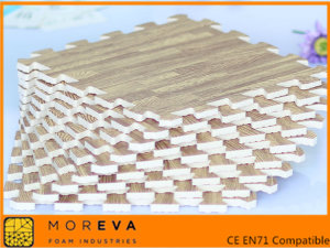 木製のトリムの eva マット 6