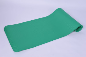 green nbr yoga mat