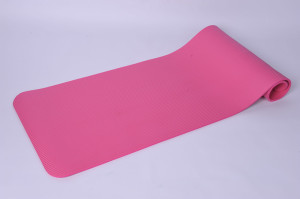 Tapis d'yoga rose nbr