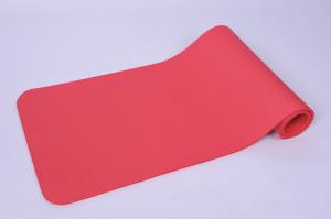 铁道部的红色 nbr 瑜伽垫