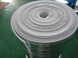 XPE vaahto päällystetty alumiini palosuojattuja lämmöneristys