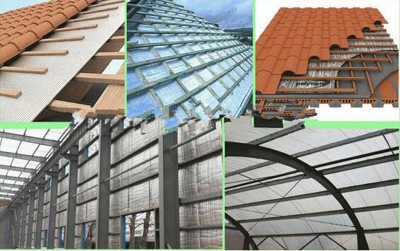 Fire-retardant XPE foam heat insulation coated aluminum for building