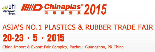 ChinaPlas No.1 gummi & plast Trade Fair i Kina