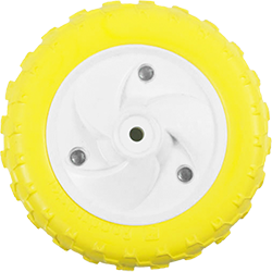 發泡注塑成型的 EVA 車輪由創造泡沫製造商美國路霸