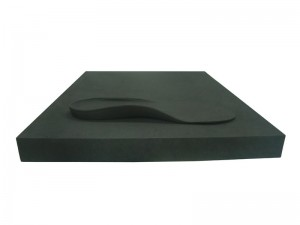 Orthopedic EVA sheet for orthopedic insole milling