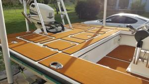 Човен палубі мат