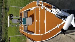 Estera de cubierta de barco