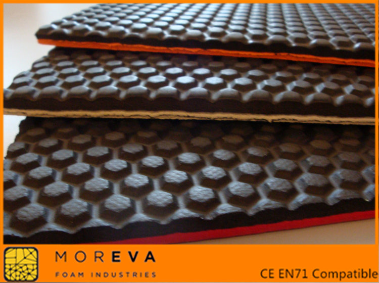Embossed Eva Foam Sheet Mor Eva Foam